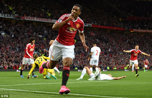 Anthony Martial snubs Ibrahimovic and names South-American as a better striker