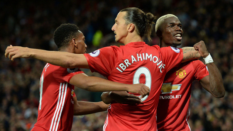 4-3-1-2: Probable United lineup with Zlatan and Lukaku in attack