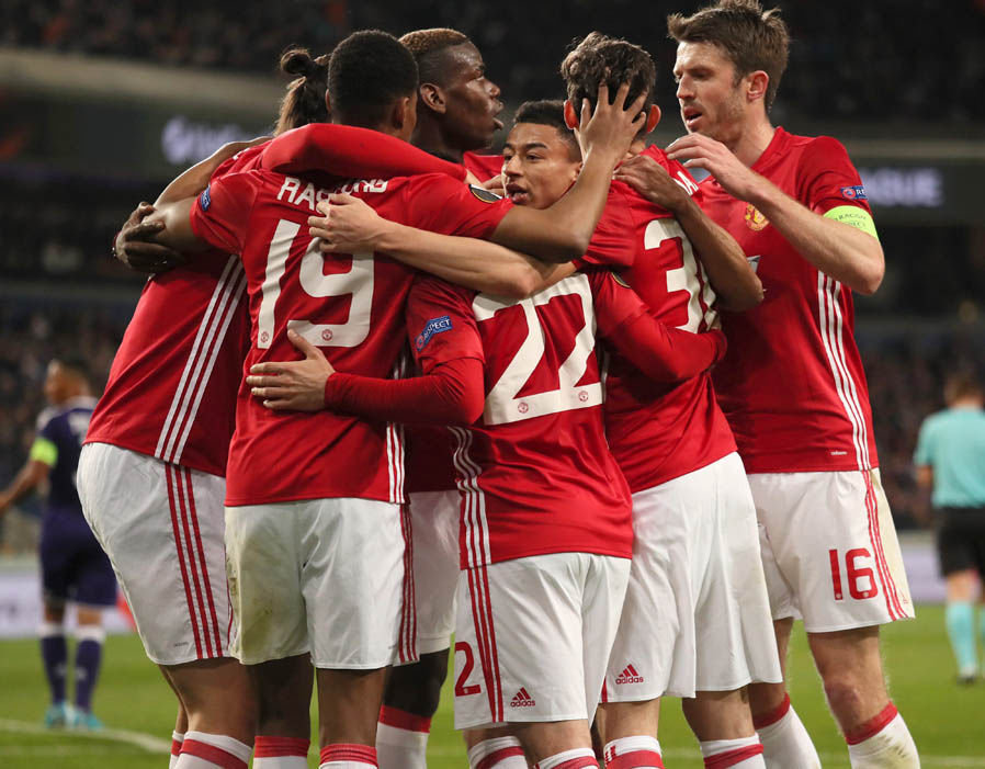 Europa League: Rashford to the Rescue for United