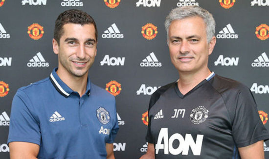 Jose Mourinho hoping to seal deal for Henrikh Mkhitaryan
