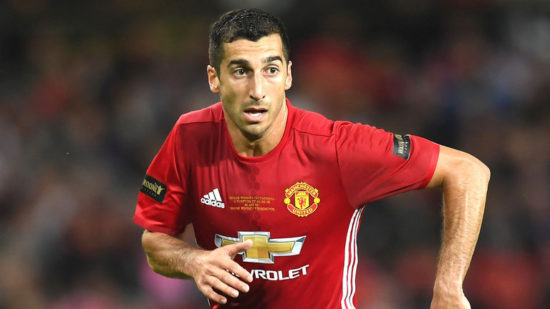 Three players who could follow Mkhitaryan out of Old Trafford in January