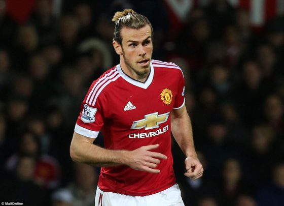 Picture: How Gareth Bale will look in Man United jersey if he completes £93m move
