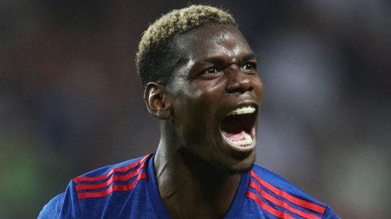 Paul Pogba sends message to fans over his fitness