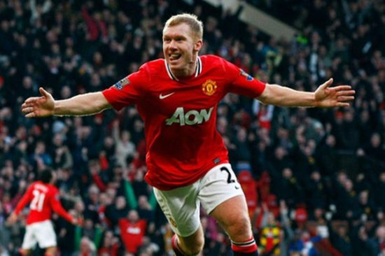 The man Paul Scholes