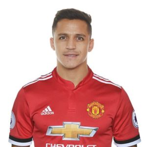 1f0356f52ff Picture  Alexis Sanchez looks good in Man United home jersey if he  completes bargain move
