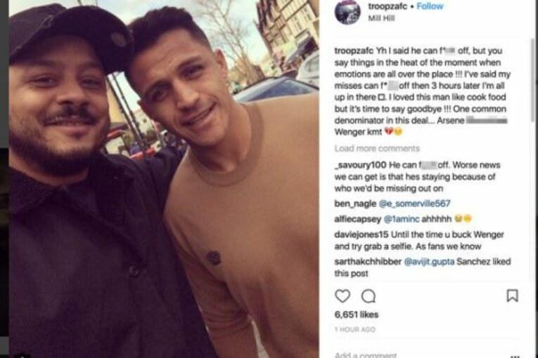 Announcement imminent, Alexis Sanchez drops huge Man United transfer hint