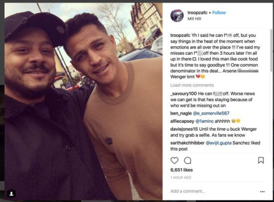 Announcement imminent, Alexis Sanchez drops huge Man United transfer hint