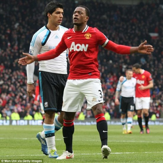 Patrice Evra: French left-back who became a club icon
