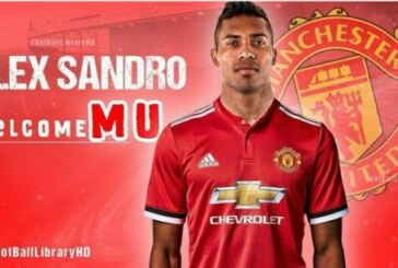 Picture: How Alex Sandro will look in Man United shirt if he completes £53million move