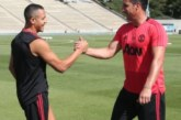 Pictures: £400,000-a-week player joins Man United squad ahead of San Jose Earthquakes game