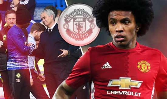Picture: Willian will look good in Man United shirt if he completes £70M move