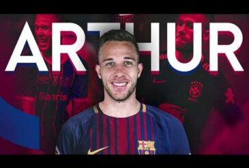 Manchester United target Arthur Melo completes £26.5 million move to Barcelona