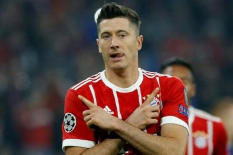 Man United target Robert Lewandowskito replace Zlatan Ibrahimovic